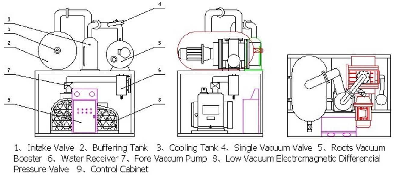 vacuum pump skid